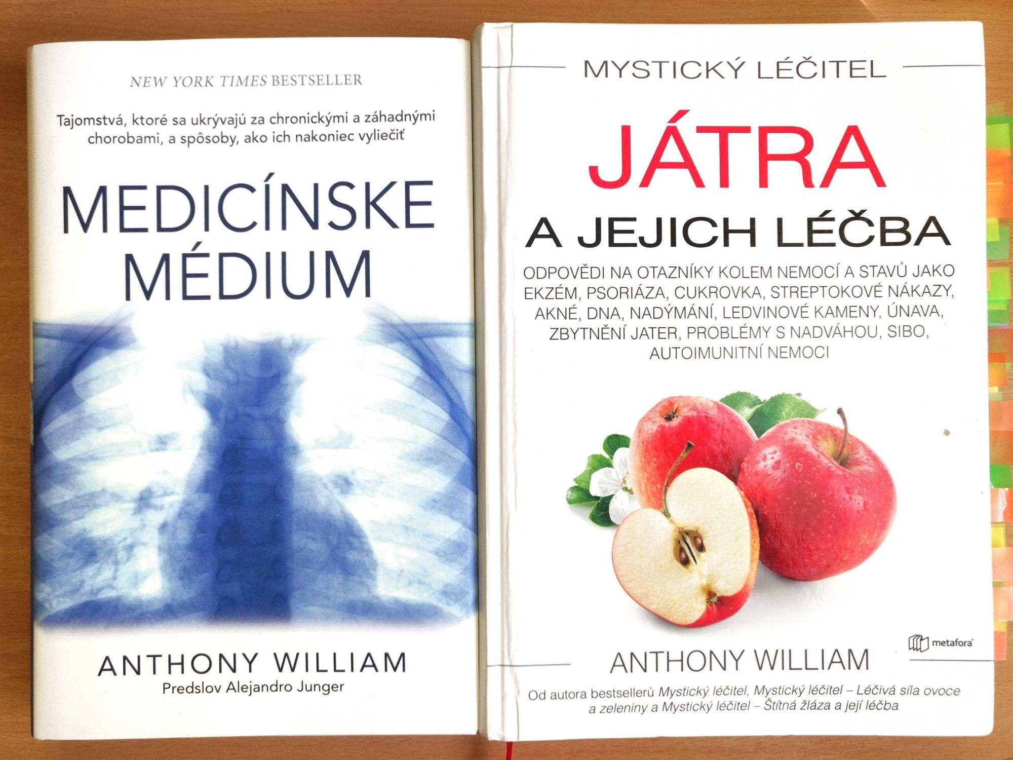 Knihy o liečbe tela